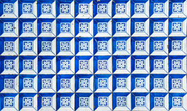 Azulejos, traditional Portuguese tiles Royalty Free Stock Photography