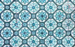 Azulejos, traditional Portuguese tiles Stock Image