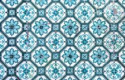 Azulejos, traditional Portuguese tiles Stock Image