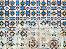 Azulejos, traditional Portuguese tiles Stock Images