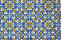 Azulejos, traditional Portuguese tiles Royalty Free Stock Image
