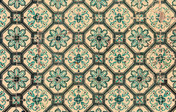 Azulejos, traditional Portuguese tiles Royalty Free Stock Photo