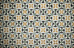 Azulejos, traditional Portuguese tiles Stock Photography