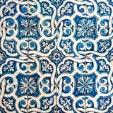 Azulejos, traditional Portuguese tiles Royalty Free Stock Photo