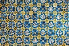 Azulejos, traditionele Portugese tegels Stock Foto's
