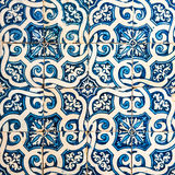 Azulejos, traditionele Portugese tegels Royalty-vrije Stock Foto