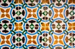 Azulejos, traditionele Portugese tegels stock afbeelding