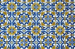 Azulejos, traditionele Portugese tegels Royalty-vrije Stock Afbeelding