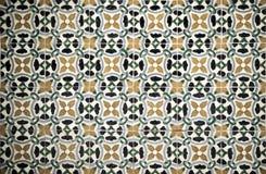 Azulejos, traditionelle portugiesische Fliesen Stockfotografie