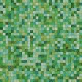 Azulejos verdes irregulares lisos Imagenes de archivo
