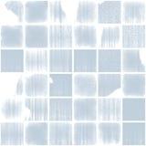Azulejos vidriosos rotos azules Fotografía de archivo libre de regalías