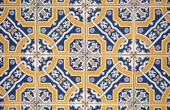 Azulejos viejos ornamentales imagenes de archivo