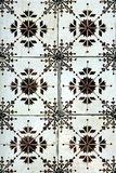 Azulejos (wall tiles)  in Porto. Azulejo (wall tile) in the city of Porto, Portugal Royalty Free Stock Images