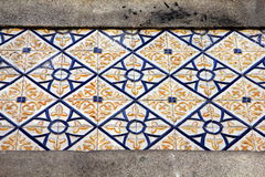 Azulejos (wall tiles)  in Porto Royalty Free Stock Photo