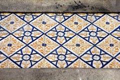 Azulejos (wall tiles)  in Porto. Azulejo (wall tile) in the city of Porto, Portugal Royalty Free Stock Photo