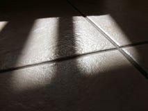 Azulejos y sombras Fotografía de archivo libre de regalías