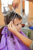 Azules de la barbería fotos de archivo libres de regalías