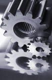 Azules de la rueda dentada Fotos de archivo libres de regalías