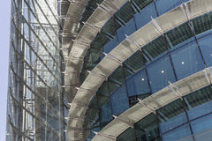 Azules 2 de los ventanas de Textura Fotografía de archivo libre de regalías