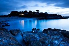 Azules del amanecer fotos de archivo