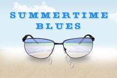 Azules del verano fotos de archivo libres de regalías
