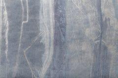 Azules marinos y color plata de arte abstracto Pintura multicolora en lona fotografía de archivo