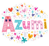 Azumi - a feminine Japanese given name Stock Image