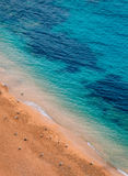 Azur-Ansicht von Cote d'Azur Küstenlinie Stockfoto