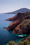 Azur de Cote d, France photographie stock libre de droits