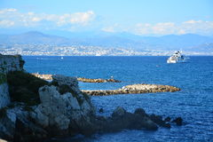 ` Azur France d'Antibes - de Cote d Images stock