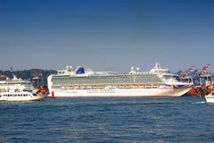 Azura liner Stock Image