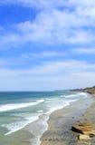 azure берег solana ca пляжа Стоковые Изображения