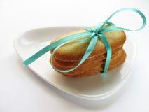 azure связанный стог тесемки печений Стоковые Фото