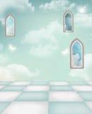 Azure background Stock Photo