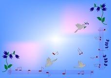 Azure background Stock Image
