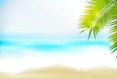 Azure beach Royalty Free Stock Photo