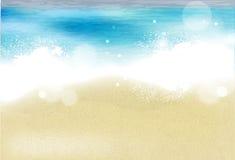Azure beach Royalty Free Stock Photography