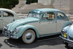 Azure Beetle ligera Fotos de archivo