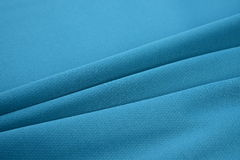 Azure blue made by cotton fiber Stock Photography