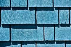 Azure Blue Shingles Arkivfoton