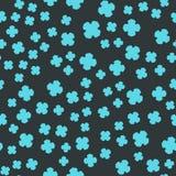 Azure Clover Seamles Print Image libre de droits