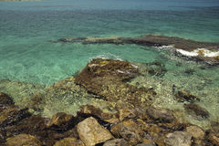 Azure Coast Fotografia Stock Libera da Diritti