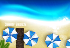 Azure coast Royalty Free Stock Image