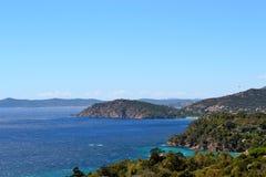 Azure coast, France. Amazing azure coast in France Stock Photos