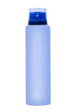 Azure deodorant container.Isolated. Royalty Free Stock Photo