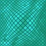Azure Diagonal Square Pattern illustration stock