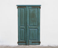 Azure door Royalty Free Stock Images