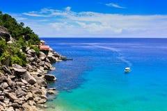 Azure island Stock Images