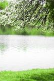 Azure lake michigan Stock Photo