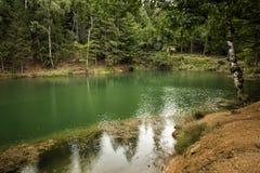 Azure Lake, Polen Lizenzfreie Stockbilder